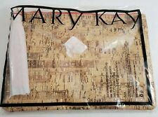 Mary Kay Makeup Cork Paradise Calling Collection Purse/ Bag Discontinued Retired