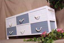 Flurbank 6 Schubladen Seilgriffe Schuhbank Kinderschrank Spielzeugschubladenschr