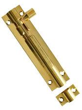 """6"""" Brass Door Bolt / Lock Bathroom Lock Extruded Standard Bolt & Screws"""