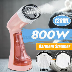 """800W 120ml Portable Handheld Clothes Garment Steamer Fabric Compact Home  """"+