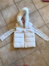 Girls Size 5/6 Puffer Vest White Winter