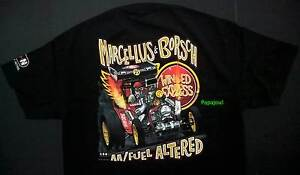 Winged Express 23 Ford T Marcellus & Borsch Double AA Fuel Altered T-Shirt NHRA