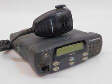 Motorola Cdm 1250 Aam25kkd9aa2aaqs Vhf 136 174 50w Mobile Radio With Mic