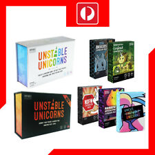 Unstable Unicorns Base 2nd Edition+NSFW Edition+All Expansion Packs Card Game