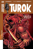 TUROK #1 VOL 2 AARON LOPRESTI COVER DYNAMITE ENTERTAINMENT COMIC