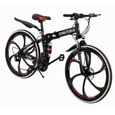 New listing New Mountain Bike 21 Speed 26 inch Folding Bike Double Disc Brake Bicycles