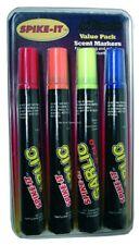 NEW! Spike-It Dye Marker Set, Garlic Chartreuse/Red/Orange/Blue 16001
