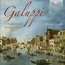 Andrea Chezzi - 6 Harpsichord Sonatas op.1 CD NUOVO Galuppi, Baldassarre