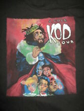 """American Rapper Choose Wisely J. Cole """"Kod"""" Concert Tour Young Thug (Xl) T-Shirt"""