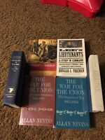 American Civil War Lot of 6 books Preowned Nonfiction Good Condition