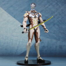 20CM Hot Overwatch OW Shimada Genji PVC Statue Figure Toys Gifts New In Box