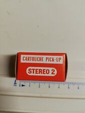 Tête de lecture Cellule cartridges radiohm stéréo 2 C6 cartouche pick up platine