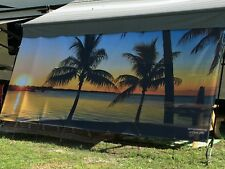 RV Awning Scenic Shade Privacy, Comfort, Beauty 7'X16'