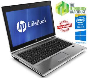 "HP Elitebook 2560p Laptop 12"" HD Powerful Notebook with SSD & Windows 10 Pro"