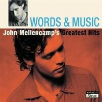 "JOHN MELLENCAMP ""WORDS & MUSIC GREATEST HITS"" 2 CD NEW+"