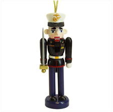 "Vanguard Marine Corps Nutcracker With Sword (Ornament)(4-3/4"" Tall)"