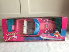 MATTEL Barbie SPARKLE Spiaggia Barca Vita Giacca Retrò Da Collezione In Scatola Rosa
