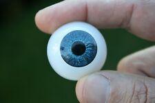 Ojos para muñeca 30 mm azul  reborn bjd ooak dollfie manualidades nancy