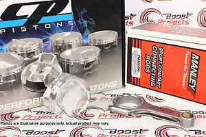 CP Pistons 86 mm 9.0:1 CR & Manley H-Beam Rods For Toyota Supra 2JZ 2JZ-GE / GET