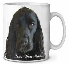 Black Cocker Spaniel 'Love You Mum' Coffee/Tea Mug Gift Idea, AD-SC8lymMG