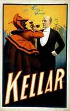 Kellar 4 A4 Photo Print Magic Magician Vintage