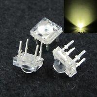 S387 - 50 Stück LED 5mm warmweiß SuperFlux Piranha 120° LEDs