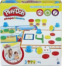 Hasbro PlayDoh Shape and Learn Numbers and Counting Modelling Dough 3 Years +