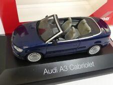 1/43 Herpa Audi A3 Cabriolet scubablau perleffekt 070812