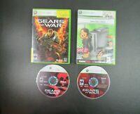 Gears of War 1 & 2 (Microsoft Xbox 360, 2006, 2008) 2 Game Lot