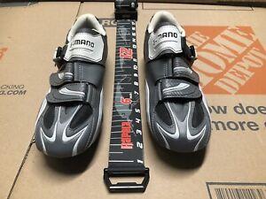Shimano Gray cycling Shoes SH-R087G EU 46 US 11.2, CM 29.2 $115