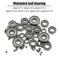 New 6*30*10mm U Groove Metal Shield Nylon Pulley  Roller Ball Bearing HJ