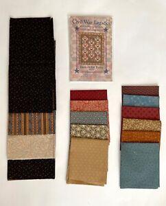 Civil War Legacies quilt pattern + fabric