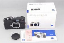 2232#GC Zeiss Ikon M-Mount ZM Black 35mm Rangefinder Film Camera Mint