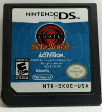 Nintendo DS Game - CHAOTIC SHADOW WARRIORS - USED - No Case
