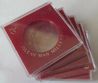 IOM Isle of Man SET of 5 boxes for Tynwald Millenium crown