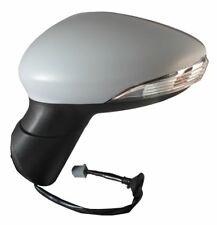 Ford B-Max Zetec MPV 2012-> Electric Wing Door Mirror Primed Passenger Side N/S