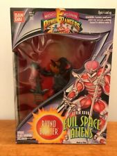 "Mighty Morphin PowerRangers 8"" Evil Space Alien Rhino Blaster new 1994"