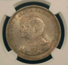 1898 Portugal 200 Réis Carlos I Discovery of India NGC MS-63+