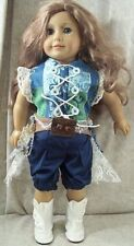 """Doll Clothes Made 2 Fit American Girl 18"""" Steampunk 4pcs Goggles Nickers Bustle"""