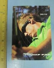 OAKLEY 2006 IAN POULTER GOLF dealer promo display card New Old Stock Flawless