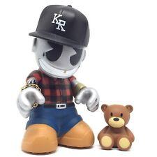 "*RARE* Kidrobot Bots Hip Hop Rapper 3"" Vinyl Art Figure Rap Toy Urban Designer"