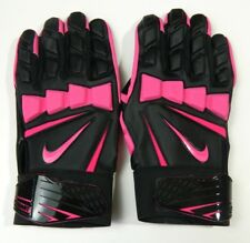 NIKE 3XL Hyperbeast NFL Issued Pink Breast cancer BCA Football Lineman Gloves
