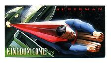 Skybox 1996 Kingdom Come Xtra Widevision Promo Card Superman Unnumbered