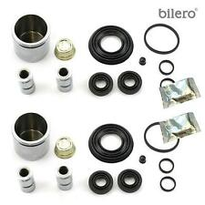 2x Brake Caliper Repair Kit Gasket Set + Piston Front 48 mm for Delco System