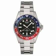 Swiss Alpine Military by Grovana Watch Men's Wristwatch GMT 7052.1131 Made