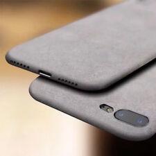 Para Iphone 8 7 6 X Plus à prova de choque Arenito TPU macio fino Capa Protetora Traseira Fosca