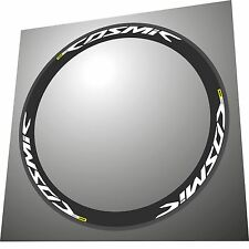 MAVIC COSMIC PRO CARBONE EXALITH COUPLE 2016 WHITE REPLACEMENT RIM DECAL SET