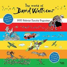 The World of David Walliams 2021 Family Org Square Wall Calendar by Ltd. New..