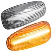LED SEITENBLINKER für MERCEDES W202 S202 W210 S210 A208 C208 R170 KLARGLAS |7231