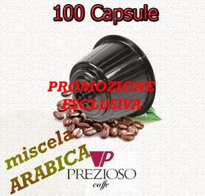 OFFERTA 100 Cialde Capsule DOLCE GUSTO ARABICA Caffè Prezioso